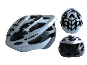 ACRA CSH30B-L bílá cyklistická helma velikost L (58-61cm) 2018  + šťavnatá tyčinka ZDARMA