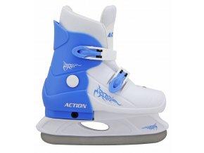 ACRA H713/1 Hokejové brusle roztahovací dětské - vel.33-36  + šťavnatá tyčinka ZDARMA