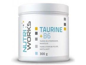 NutriWorks Taurine + B6 300g  + šťavnatá tyčinka ZDARMA