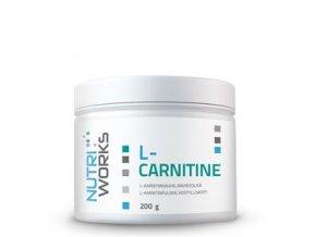 NutriWorks L-Carnitine 200g  + šťavnatá tyčinka ZDARMA