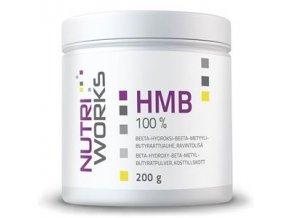 NutriWorks HMB 200g  + šťavnatá tyčinka ZDARMA