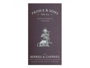 Prince and Sons Berries & Cherries 15 sáčků (37,5g)