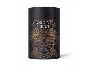 ANCIENT and BRAVE Coffee + Grass Fed Collagen 250g  + šťavnatá tyčinka ZDARMA