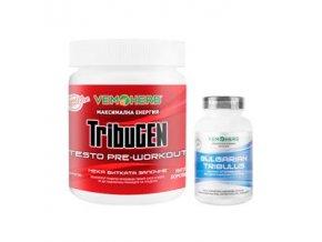 VemoHerb TribuGEN 300g borůvka + Tribulus Terrestris 90 kapslí  + šťavnatá tyčinka ZDARMA