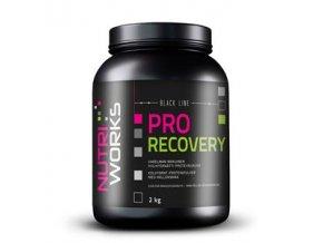 NutriWorks Pro Recovery 2kg malina  + šťavnatá tyčinka ZDARMA