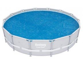 Bestway 58252 Solární plachta na bazén 427cm  + šťavnatá tyčinka ZDARMA