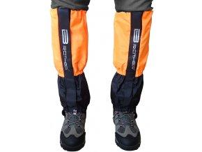 ACRA LTH2 Turistický návlek komfortní černo oranžový - 1 pár