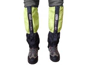 ACRA LTH2/1 Turistický návlek komfortní černo zelený - 1 pár