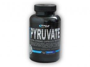 Musclesport Pyruvate extra strong 100 kapslí  + šťavnatá tyčinka ZDARMA