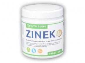 Nutri House Zinek 25mg 500 tablet  + šťavnatá tyčinka ZDARMA