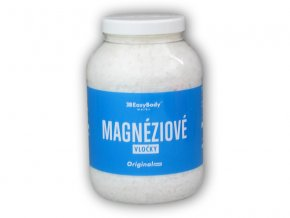 Easy Body Magnéziové vločky transdermální 2500g  + šťavnatá tyčinka ZDARMA