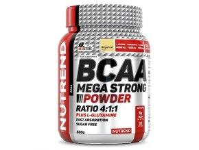 Nutrend BCAA Mega Strong Powder 500g  + šťavnatá tyčinka ZDARMA