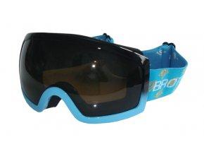 BROTHER B276-M lyžařské brýle pro dospělé - modré  + šťavnatá tyčinka ZDARMA