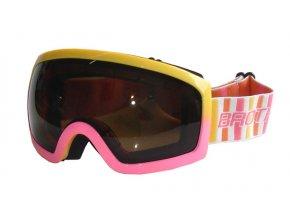 BROTHER B276-RU Lyžařské brýle, růžové  + šťavnatá tyčinka ZDARMA