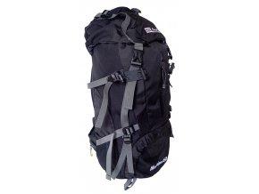 ACRA BA60 Batoh pro horskou turistiku 60 l černý  + šťavnatá tyčinka ZDARMA