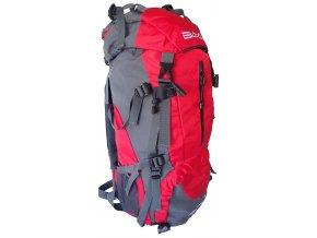 ACRA BA60 Batoh pro horskou turistiku 60 l červený  + šťavnatá tyčinka ZDARMA