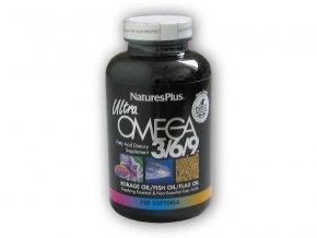 Nature's Plus Source of Life Ultra Omega 3-6-9 120 kap  + šťavnatá tyčinka ZDARMA