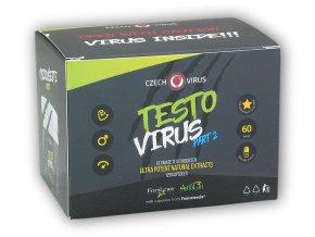 Czech Virus TESTO VIRUS PART 2 120 kapslí  + šťavnatá tyčinka ZDARMA