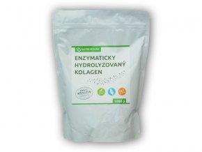 PROTEIN Nutri House Enzymaticky Hydrolyzovaný Kolagen 100% 1000g  + šťavnatá tyčinka ZDARMA