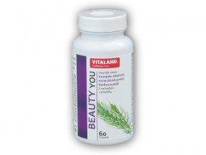 Vitaland Vitaland Beauty You 60 kapslí  + šťavnatá tyčinka ZDARMA