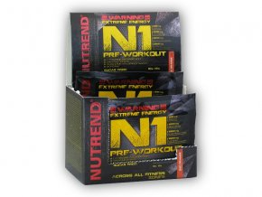 Nutrend N1 Pre-Workout 10x17g