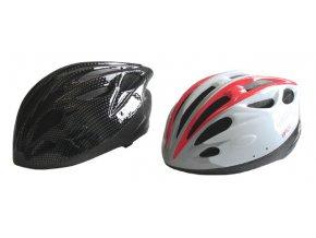 ACRA CSH31M bílá/černá cyklistická helma velikost M (55-58cm) 2015