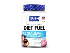USN Diet Fuel Ultralean 1000g  + šťavnatá tyčinka ZDARMA