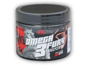 BigZone Omega 3 Fury Triglyceride 120 kapslí  + šťavnatá tyčinka ZDARMA