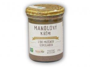 Božské oříšky Mandlový krém s BIO čokoládou 390g