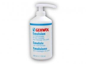 Gehwol Emulsion masážní 500ml s pumpou  + šťavnatá tyčinka ZDARMA