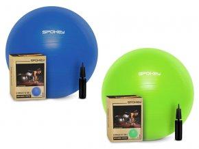 Spokey FITBALL III Gymnastický míč 75cm  + šťavnatá tyčinka ZDARMA
