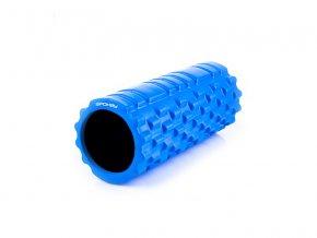 Spokey Teel II fitness masážní válec modrý  + šťavnatá tyčinka ZDARMA