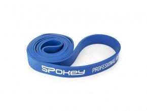 Spokey Power II odporová guma modrá odpor 20-30 kg  + šťavnatá tyčinka ZDARMA