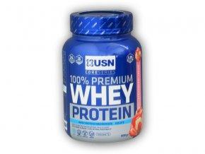 PROTEIN USN 100% Whey Protein premium 908g  + šťavnatá tyčinka ZDARMA