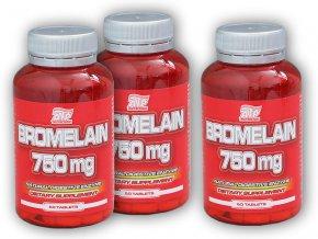 ATP Nutrition 2x Bromelain 750mg 60 tablet + 1x ZDARMA  + šťavnatá tyčinka ZDARMA