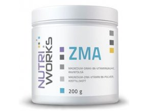 NutriWorks ZMA 200g  + šťavnatá tyčinka ZDARMA