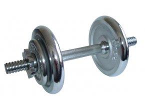 ACRA Činka nakládací, jednoruční 8,5 kg - chromované kotouče  + šťavnatá tyčinka ZDARMA