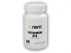 NeroDrinks Vitamin D3 2.000IU 60 kapslí