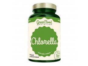 GreenFood Nutrition Chlorella 90 vegan kapslí