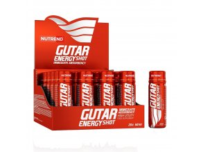 Nutrend Gutar Energy Shot 20x60ml ampule  + šťavnatá tyčinka ZDARMA