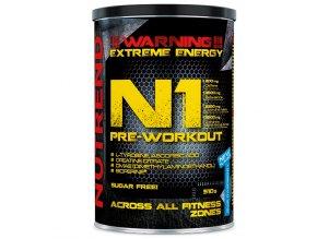 Nutrend N1 Pre-Workout 510g  + šťavnatá tyčinka ZDARMA