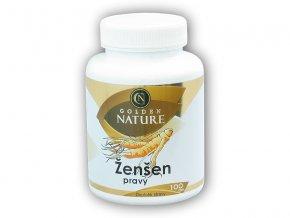 Golden Natur Ženšen pravý 4% ginsenosidů 100 kapslí