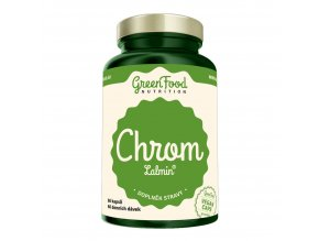 GreenFood Nutrition Chrom lalmin 60 vegan kapslí