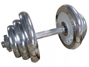 ACRA Činka nakládací jednoruční chromovaná 20 kg 25 mm  + šťavnatá tyčinka ZDARMA
