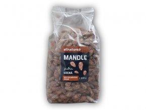 Allnature Mandle jádra uzená 1000g  + šťavnatá tyčinka ZDARMA