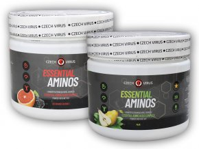 Czech Virus Essential Aminos 360g  + šťavnatá tyčinka ZDARMA