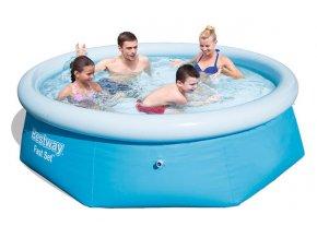 Bestway 57265 Samostavěcí bazén 244x66cm  + šťavnatá tyčinka ZDARMA
