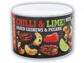 Mixit Oříšky z pece - Habanero chilli + lime 150g