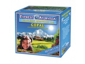 Zdravý den Gopal čaj