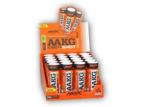 Amix AAKG Shot 4000mg Box 20x60ml  + šťavnatá tyčinka ZDARMA